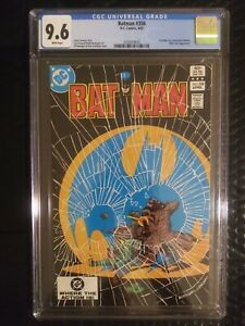 BATMAN 358 CGC 9.6 WHITE PAGES Very tough black cover to find in high grade