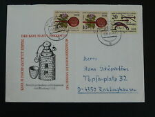 history of medicine commemorative cover Germany DDR 78332