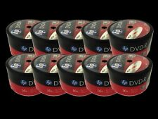 500 Pieces HP Logo 16X DVD-R DVDR Recordable Blank Disc FREE EXPEDITED SHIPPING
