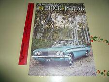 1961 Buick Special Sales Brochure Vintage - Large Brochure