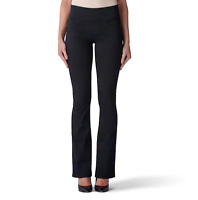 Women's Rock & Republic Fever Pull-On Bootcut Jeans Black MSRP $88