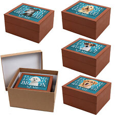 More details for personalised memory box dog breed jewellery keepsake trinket mothers day gift kp