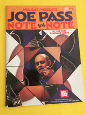 Joe Pass Note by Note, Book only!