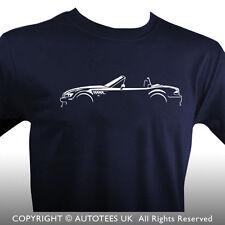 Prima de coches AUTOTEES T-Shirt-Para BMW Z3 Convertible entusiastas de autos