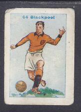 Thomson - Football Team Cards 1934 - # 64 Blackpool