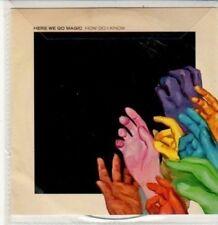(DD770) Here We Go Magic, How Do I Know - 2012 DJ CD