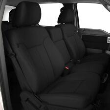 2013 2014 Ford F-150 XLT Super Crew Cab Katzkin Leather Seat Black NEW F150 1