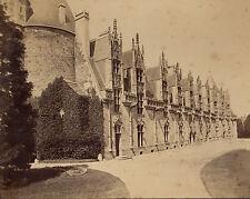CHÂTEAU DE JOSSELIN GRANDE ALBUMINE 21x27 NEURDEIN 1885