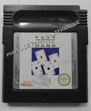 Cartouche de jeu COOL HAND nintendo game boy color cartes cards loose spiel spil