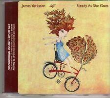 (AJ520) James Yorkston, Steady As She Goes - DJ CD