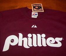 VINTAGE STYLE PHILADELPHIA PHILLIES MLB STEVE CARLTON T-Shirt MEDIUM  NEW