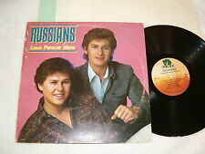 """The Russians """"Love Forever More"""" 1983 Country LP, VG+, on Voice Box, w/ Insert"""