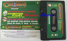 MC CANTAUTORE 4 1992 STRUMENTALE JOE COCKER DALLA DE GREGORI  no cd lp dvd vhs*