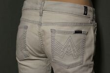 7 For All Mankind Womens A Pocket Embroidered Jeans size 29