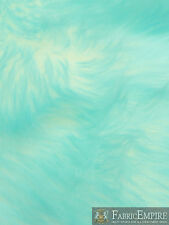 """Faux Fur Fabric Long Pile Candy Shaggy ARUBA/ 60"""" Wide / Sold by the yard"""