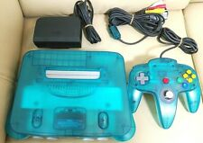 Nintendo 64 Console ICE BLUE From JAPAN N64 Tested