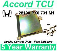 28100 PX0 731 Honda Accord TCU repair alternative TCU Rebuilt w/ 5 yr. warranty
