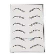Permanent Cosmetic Eyebrow Makeup Practice Training Skin Sheet Tattoo Supply