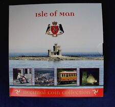 2006 Isle of Man 9 coin Uncirculated set in Folder   (Y4/26)