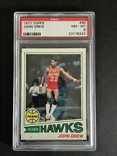 1977 Topps #98 JOHN DREW ATLANTA HAWKS NM-MT