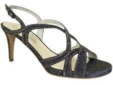 Stuart Weitzman Women's Axislith Dress Sandals Pyrite Nocturn Size 8 M