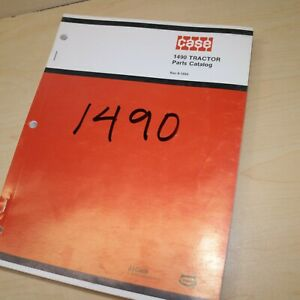 CASE 1490 Tractor Spare Parts Manual Book Catalog List farm wheel 1981 factory
