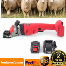 300w Electric Sheep Shearing Machine Clipper Shears Wool Scissors 22002400rpm
