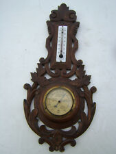 Thermometre barometre de la Foret Noire ( entierement d'origine )