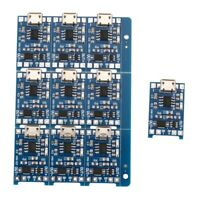 10Pcs 5V mini USB 1A 18650 TP4056 Lithium Battery Charging Board With Prote A1D3
