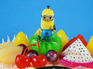 Despicable Me Gru Minions Kevin Movie Toy Cake Topper Decoration K1102_G