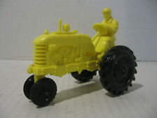 Barr Rubber Products Co. Yellow Plastic Ohio Tractor