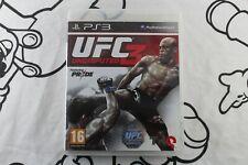 PLAY STATION 3 PS3 UFC UNDISPUTED 3 MUY BUEN ESTADO PAL ESPAÑA