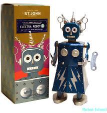 "ELECTRA ROBOT WINDUP 5"" Tin Toy St. John Edition Maria Metroplis Collectible"