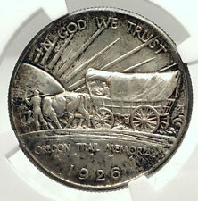 1926 Oregon Trail Commemorative Half Dollar Silver US Coin NGC MS 64  i76002