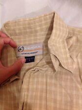 Mens O'neil Plaid Button Down Front Shirt Size L