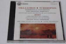 Villa Lobos & Tcherepnin: Harmonica Concertos - Ibert: Concerto Da Camera (CD)