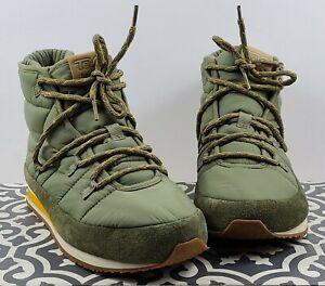 Teva Ember Lace Hiking Slipper Boot  Men's Sz 9 1094235 Burnt Olive NEW NWOB