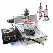 CNC Router 3040 Z-DQ 500W Spindle 3 Axis Wood Cutting Engraving Milling Machine