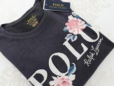 RALPH LAUREN Polo  Damen T-Shirt Gr. S  dark grau  mel  UVP: 99€  NEU