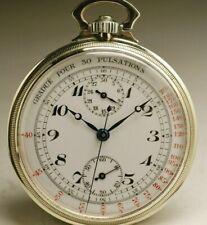 Ancienne montre gousset CHRONOGRAPHE 1930 VINTAGE POCKET WATCH