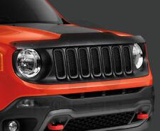 15-18 Jeep Renegade Bug Shield Front Air Deflector Tinted Smoke Mopar New