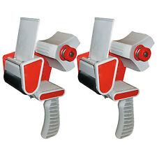 "2 x BRAND NEW HEAVY DUTY BOX PACKING PACKAGING TAPE GUN DISPENSER 50mm (2"")"