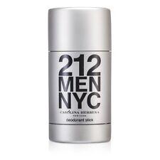 NEW Carolina Herrera 212 Deodorant Stick 2.1oz Mens Men's Perfume