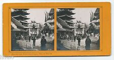 STC474 Expo Paris 1900 Pagolle Chinoise China stereoview photo STEREO vintage