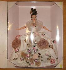 Antique Rose Barbie Doll Limited Ed 1996 FAO Schwarz NRFB Free Ship In U.S.
