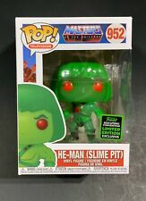 MOTU He-Man Slime Pit Funko Pop Emerald City 2020 Spring Con ECCC Skeletor Teela