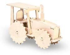 Holzbausatz Traktor / Sperrholzplatten vorgestanzt
