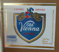 VINTAGE CANADIAN BEER LABEL - O'KEEFE OTTAWA, OLD VIENNA LAGER 625ML