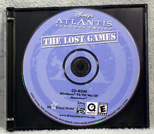 Disney's Atlantis: The Lost Empire -- The Lost Games (Windows/Mac, 2001)