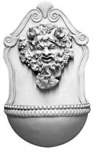 Bacchus Roman Wall fountain 23.5""